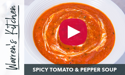 Spicy Tomato & Red Pepper Soup