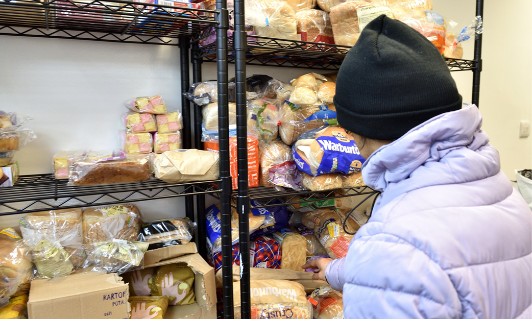 Food banks supporting communities in need