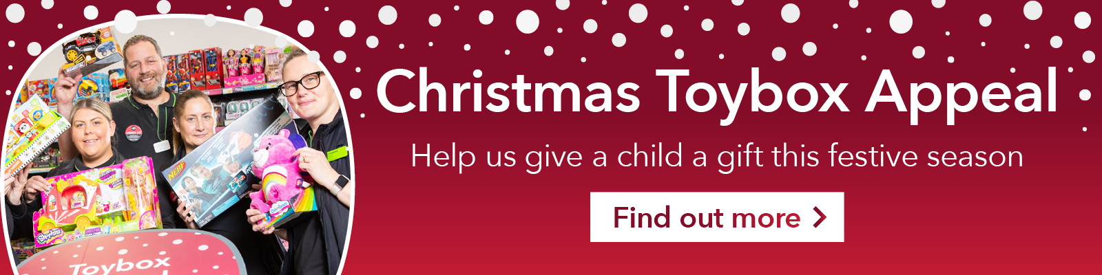 Christmas Toybox Appeal 2019