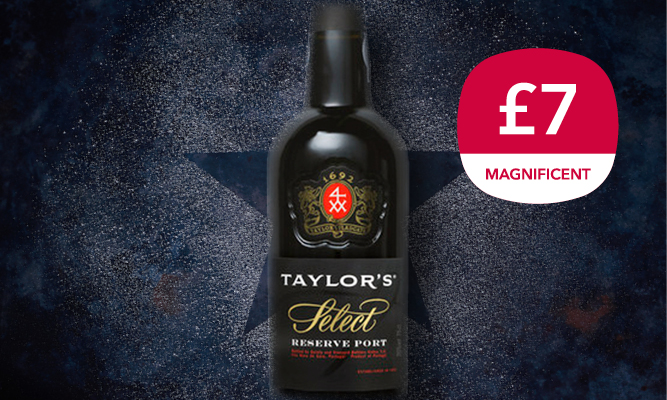 Magnificent 7 drinks offer - Taylors Port
