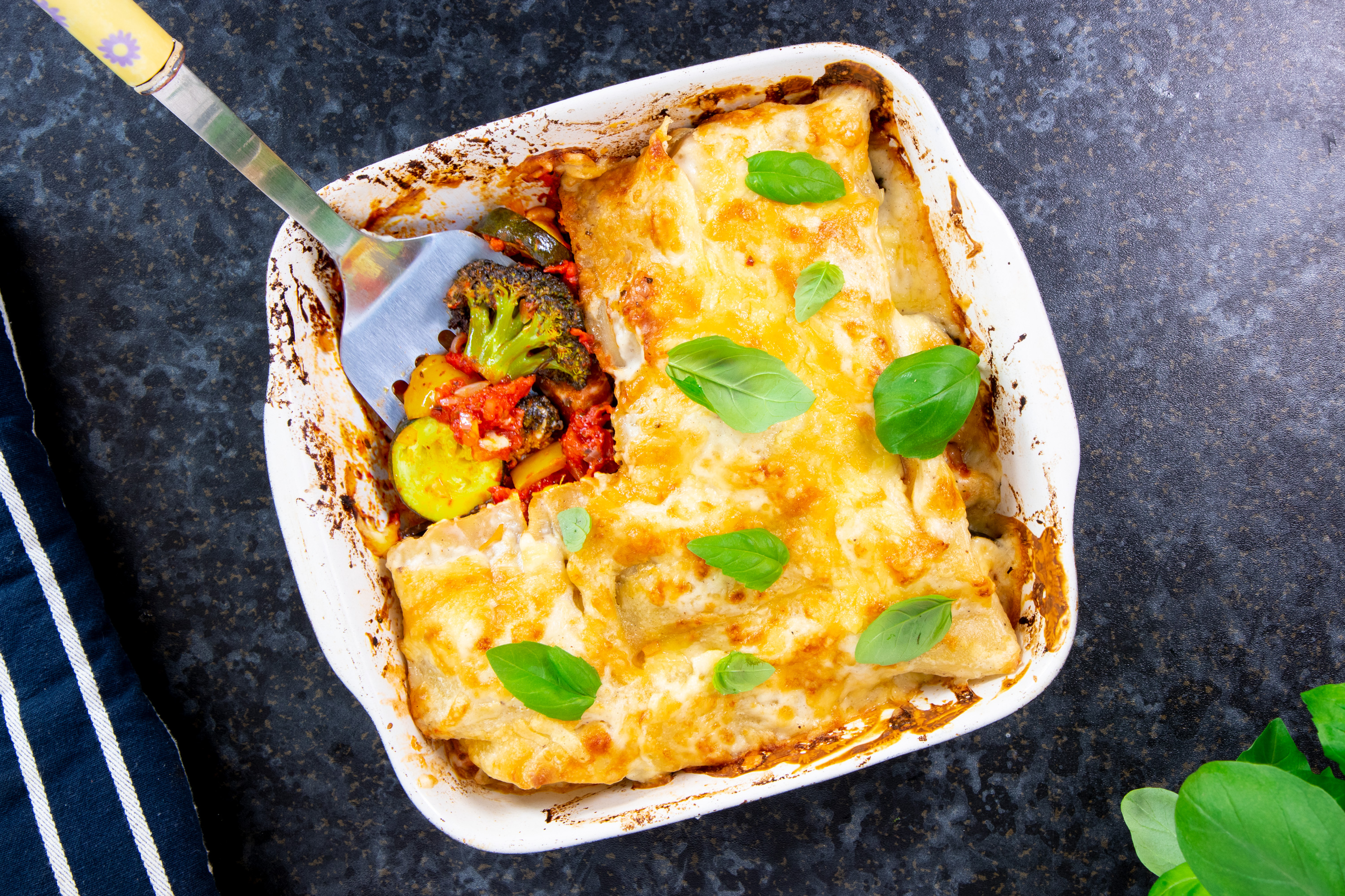 Vegetarian Lasagne Recipe Central England Co Operative