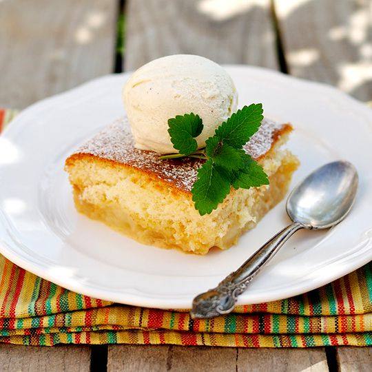 Baked Apple And Almond Pudding Recipe Central England Co